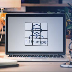 TJ Hamper Logo Rubiks Cube Effect MOCKUP