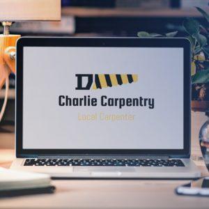 charlie carpentry mockup