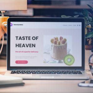 heavenly bakes header