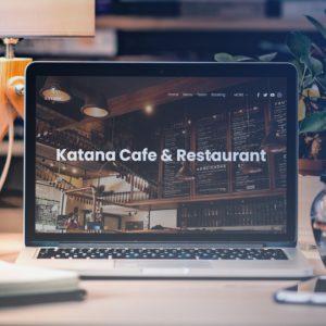 katana cafe and restaurant header