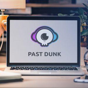 past dunk mockup