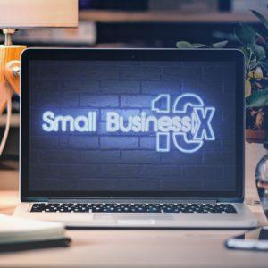 smb10x neon logo reveal